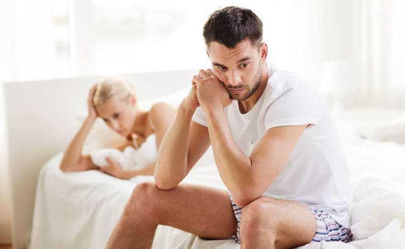 Calo del Desiderio Sessuale secondario maschile